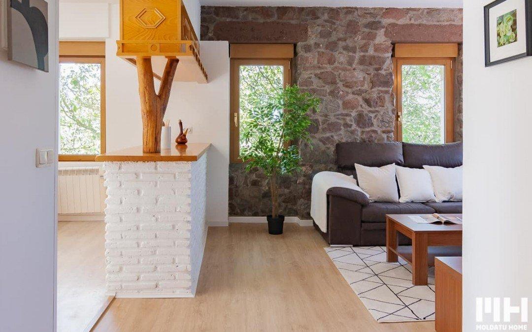 Vivienda exterior en entorno tranquilo en Oiartzun. Precio 185.000 €