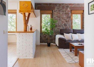 Vivienda exterior en entorno tranquilo en Oiartzun. Comprar piso en Oiartzun.